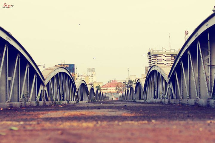 New #Overbridge view  from #elishbridge , #Ahmedabad