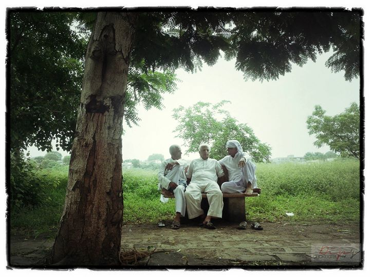 ♥♥♥First Time got chance to Click my GRAND PAA's (Middle) Pic, With his Younger Brothers (Grand Uncles)♥♥♥