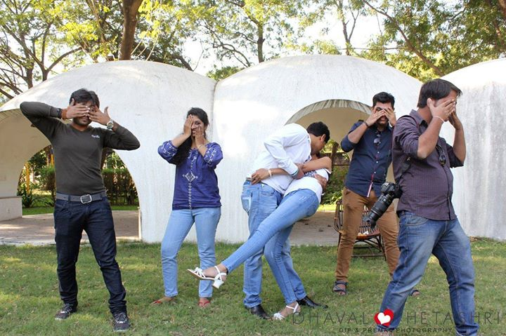 The Most #Memorable #PreWeddingShoot.. #Craziness Overload, #Enjoyed a lot with you guys. #Thanks a ton for everything. :) :D