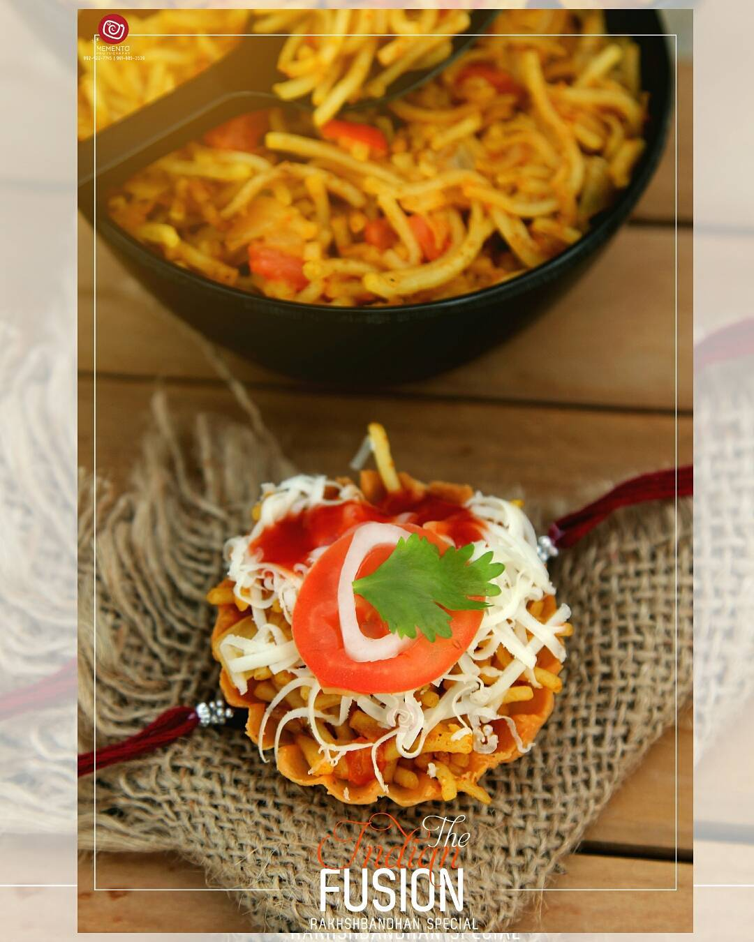 Basket chat with Chinees &  Panjabi Fusion ... Rakhi special.  #happyrakshabandhan #happyrakhi #indianfestival  #foodphotography #happymood #newbeginning  #happiness #foodpic #foodoftheday #foodlover #foodie #foodlove #foodporn #aighungrito #productPhotography #Productshoot #foodClicks  #fooddi #happyPeople #hungrito #picoftheday #photoholic #magazine #magazineshoot  #magazinephotography #ahmedabadifoodholics #ahmedabad #ahmedabadfoodphotographer #DipsPhotography | #mementophotography