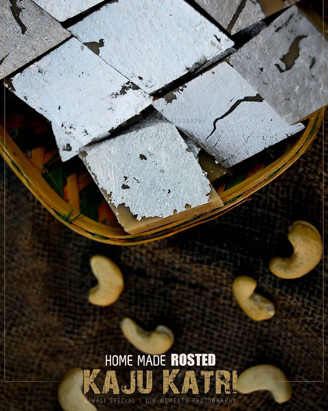 Delicious Home Made KAJU KATRI.. from