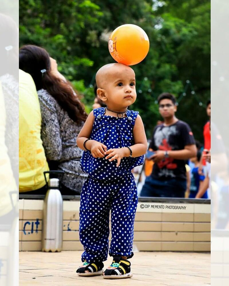 Ball is in my court.. whoops! On my head.😋 Caption Credit: @la_.vie_.en_.rose24, @perceptions___  #Cuteness & #Craziness Overloaded 😘😘😘😘😍😍😍💞💞😊💃📷 no edit/real click @happystreet2017  #crazykids #crazykid #happystreet  #kidsphotography #parenting #motherhood #igerofindia #snapographers #indianphotography  #desidiaries #ig_ahmedabad #ahmedabadi #amdavad #ahmedabaddiaries #_coi #justbaby #babygirl #babies #babiesofinstagram #photographers_of_india #MyPixelDiary #dslrofficial #youthpowerahmedabad #kidslove #childhood #daughters #kidssmile #colourfulworldpicture