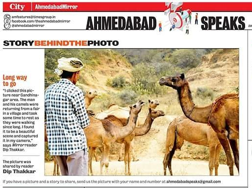 Photograph Published in 06-07-2017  Times of India Ahmedabad Mirror :) :) :D #StoryBehindThePhoto #Timesofindia #TimesMirror #AhmedabadMirror #Ahmedabad  Dip's Photography | Memento Photography