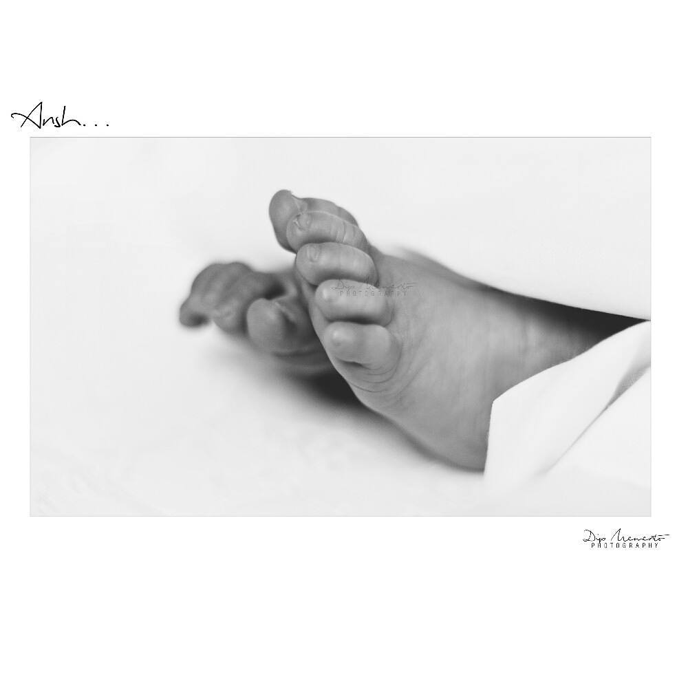 The  littlest baby feet makes the biggest footprints in our hearts ..