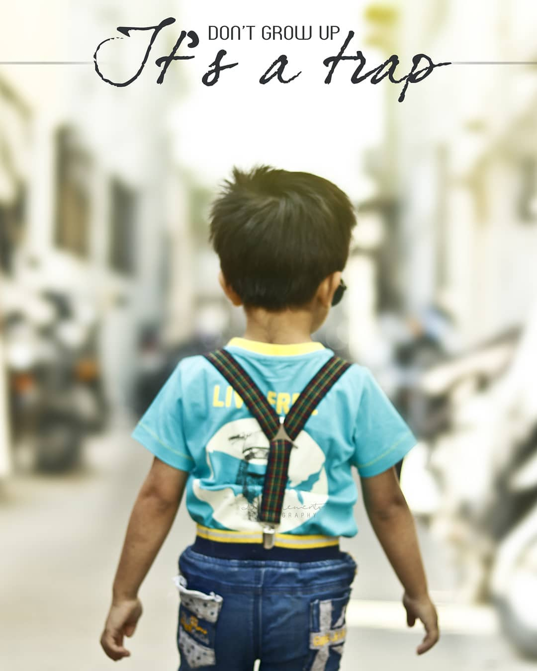 Don't grow up, its a TRAP. 😁😁😁😇 @prince.of.papa  #baby #babygoals #Childhood #Love #Adorable #Babygirl #Babyboy #Babylove #Kids #Cutebaby #Beautiful #Sweetbaby #innocentbaby #babystyle #uniquebaby #babiesglobe #Family