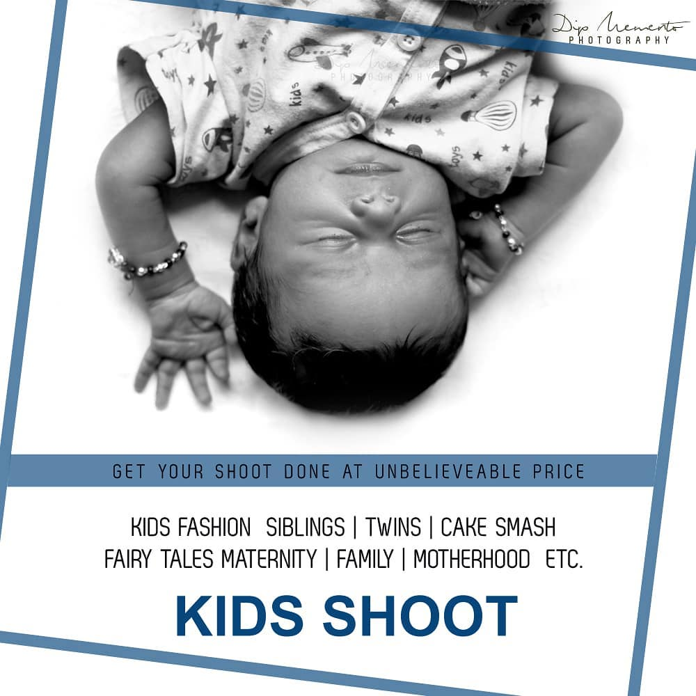 Kids/Baby shoot at unbelievable price... ______________________________________ @dip_memento_photography @memento_photography  Call on  9924227745 or whatsapp  https://wa.me/919924227745 https://mementophotography.xyz ______________________________________  #babyshoot #kids #photography  newborn  #babyphotography #kidsphotography #parenting #motherhood #igerofindia #snapographers #indianphotography #desi_diaries #desidiaries #indiaigers #ig_ahmedabad #ahmedabadi  #ahmedabaddiaries #_coi #justbaby  #babygirl #babies #babiesofinstagram #photographers_of_india  #kidslove  hood #daughters #kidssmile #50mm #canon #nikon