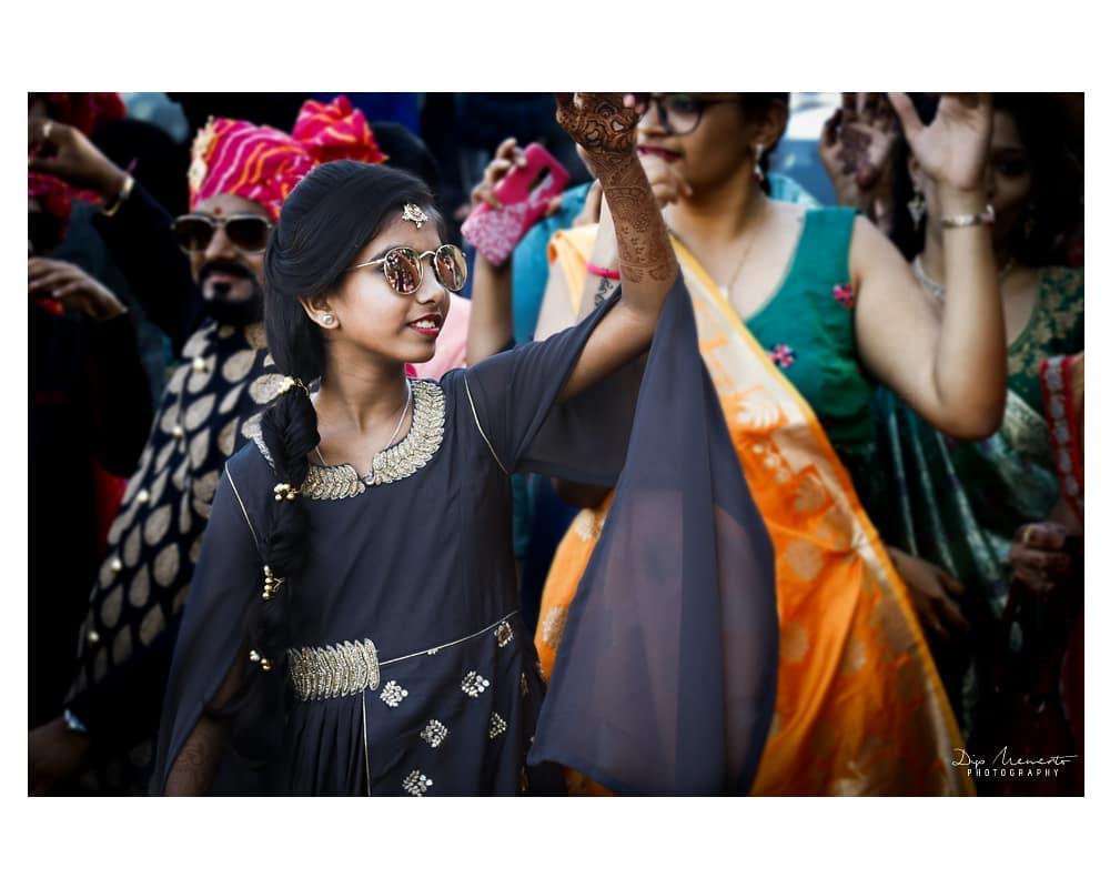 Celebrations all the way.... HARSHANG ki Shaadi.... Goggles dhari Dulhe ki cute si Bhanji... 🔶🔹🔷🔸🔶🔹🔷🔸🔶🔹🔷🔸🔶🔹🔷🔸🔶 #Candid #weddingphotography Shoot by : #dip_memento_photography #memento_photography @dip_memento_photography & @meandmyphotography11 🔶🔹🔷🔸🔶🔹🔷🔸🔶🔹🔷🔸🔶🔹🔷🔸🔶 #wedding #baraat  #candidphoto #photoshoot  #groom #travel #besttimes  #journey  #concept #photography #savethedate #comingshoon #fairytell #happiness #wedmegood #weddingsutra  #story # #couple #fun #love #candidphoto #colorfull #candid #memorise #moments #candidphotography #weddingsku #bigfatwedding