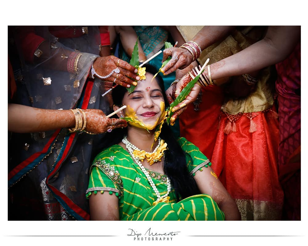 The #Haldi expression spread the super fun and happiness in the colourful moments . . Priya's Haldi Ceremony👩... #couplesgoals 🎆✨🎆✨🎆✨🎆✨🎆✨🎆✨ Wedding Shoot @dip_memento_photography @meandmyphotography11 Book your 2019-20  shoot 9924227745 🎆✨🎆✨🎆✨🎆✨🎆✨🎆✨ #weddingdiaries❤️#wedding #bride #groom #indianwedding #royalwedding  #couple #weddingtrend #couplediaries  #bridallook  #weddingphotography #candidmoments #candidphotographer #royalwedding #dipmementophotography #haldiceremony #haldi #weddingdiaries  #colourful  #indianbride #bridalgoals