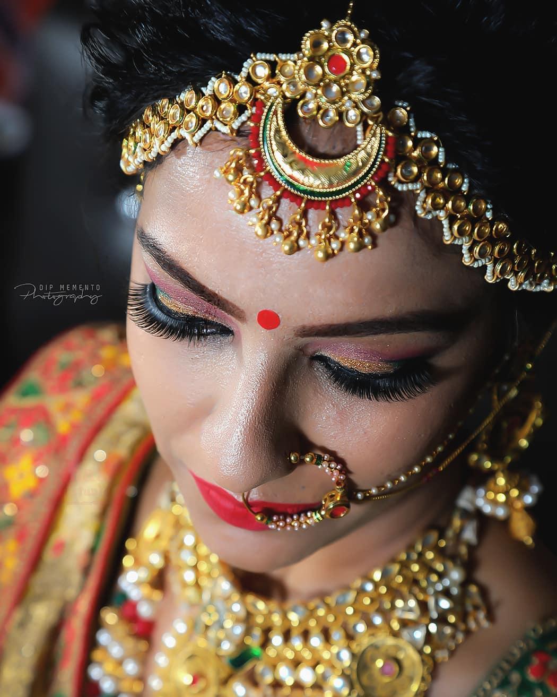 D Day- Bride to be!. . Bride shoot.. . . MUA : @dishabeautysaloonacademynikol  Shoot by : @dip_memento_photography . . #portraits #dslrofficial #indianphotographers  #portraitsindia #canon #colorsofindia #photosofindia  #fashion #photographersofindia #portraitsindia #fashionblogger #dipmementophotography #makeupartist #photography #portraitvision #portraitmood #indianportraits #colorsofindia #portraitphotography #ahmedabad #indianpictures  #portraitmood #portraits_india #bokehphotography #bongportrait #bokehphotography #yesindia