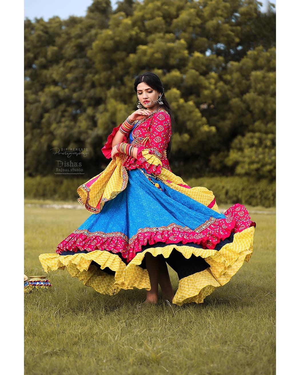 They labelled her I N S A N E because she T W I R E L E D on the nature's melody.. . . MUA: @dishapanchal246  Shoot: @dip_memento_photography  InFrame: @imug_pandey  Jewellery: @nancyhandicraft9 Costume by: @rashmithummar  #navratri2019 #photoshoot #ethnic #traditionalart #ahmedabad #gujarati  #pop #makeup #navratrichaniyacholi #chaniyacholi #indianfashionblogger  #fashionblogger #makeuptutorial #weddingdress #sexy#instagram #instapic #bollywood #bollywoodhotness #bollywoodactresses #indian #pic #picoftheday #photooftheday ##instagood#instamood #festivalofnations #festival