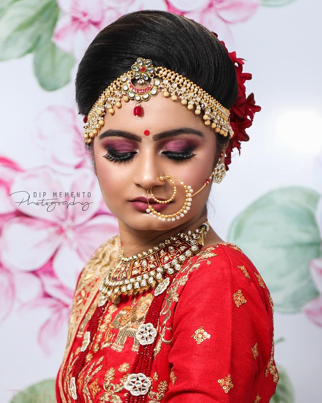 Nothing feels better when Bride look and feel beautiful on their dday.. . . ▪︎ captured by @dip_memento_photography ▪︎ Makeup by @dishabeautysaloonacademynikol ▪︎ InFrame Binita  #brides #sisterbrides #bridetobe #coolbrides #bigfatindianwedding #bridemakeup #indianwedding #photography #weddings #indianwedding #dipmementophotography #9924227745 #loveformakeup #makeuplove #makeupartist #makeup #ahmedabad #candidportraits #indianbride #indianfashionblogger #sisterstogether #sisterfriends #brides #funbrides • @wedzo.in @indianstreetfashion @weddingz.in @indian_wedding_bliss @dulhaanddulhan @thebridesofindia @indianweddings @weddingdream @indianweddingbuzz @shaadisaga @zo_wed @desiclassybrides @weddingwireindia @indiagramwedding @shaadisaga @indian__wedding @thebridesofindia @weddingsutra @wedmegood @bridalaffairind @theweddingbrigade @weddingplz @weddingfables @indian_wedding_inspiration @eventilaindia @_punjabi_weddings