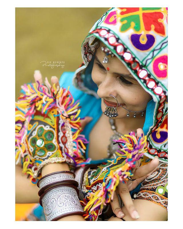 Online Garba Workshop photo/videoshoot for